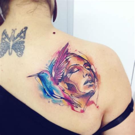 watercolor tattoo schweiz innovating watercolor tattoos by adrian bascur