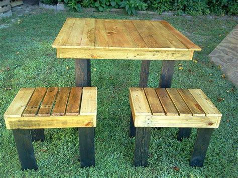 outdoors breakfast table 45 easiest diy projects with wood pallets