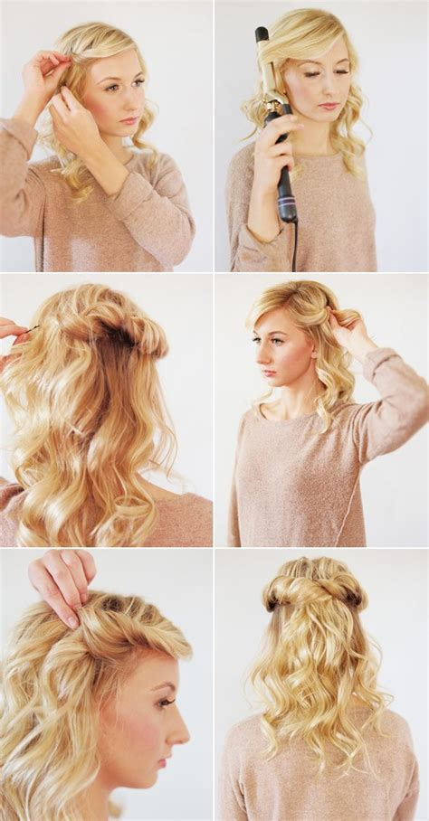 hair tutorial 17 easy diy tutorials for glamorous and cute hairstyle