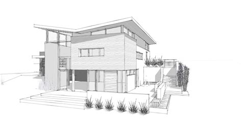 sketch of a house design modern home architecture sketches joigoo all about the house dream house