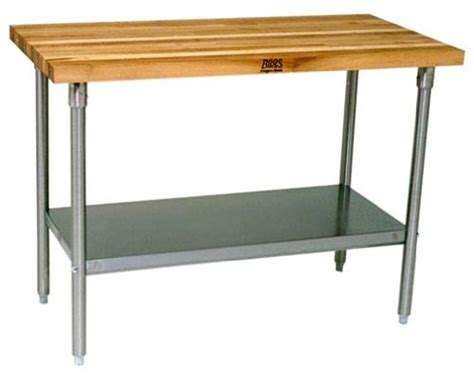 stainless steel butcher block table used stainless steel prep table steel prep table used