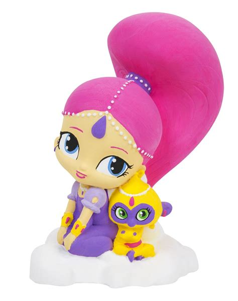 shimmer and shine l shimmer shine paint your own figure shimmer