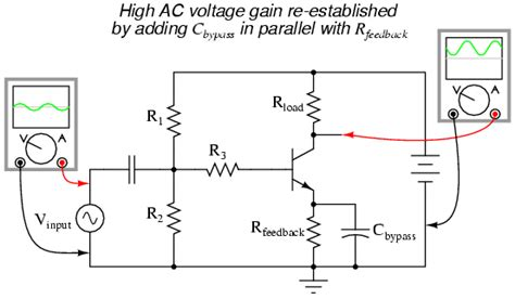 capacitor that produces ac ground ac capacitor to ground 28 images capacitor from base to ground 28 images transistors