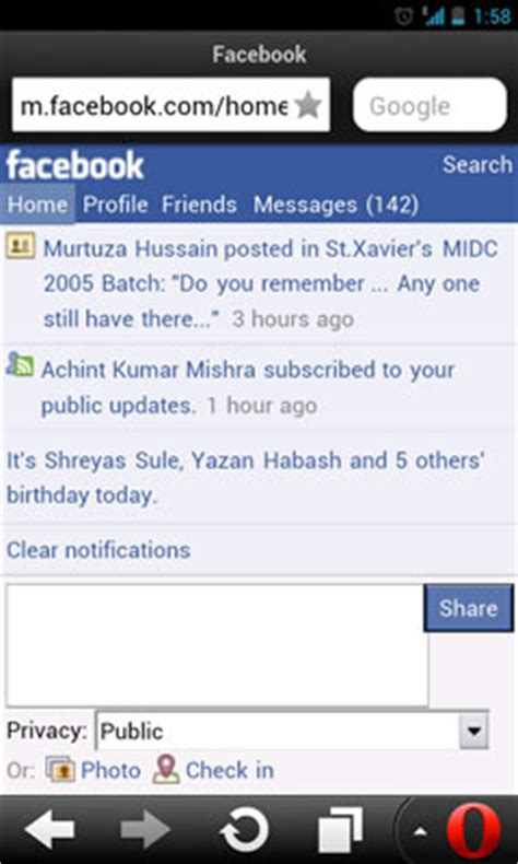 facebook themes opera mini web based operating system for mobile phones