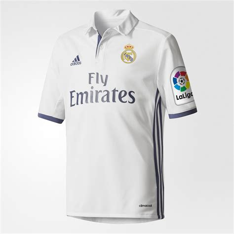 Jersey Murah Prematch Real Madrid White 2016 adidas jersey local real madrid 2016 2017 ni 241 os blanco adidas mexico
