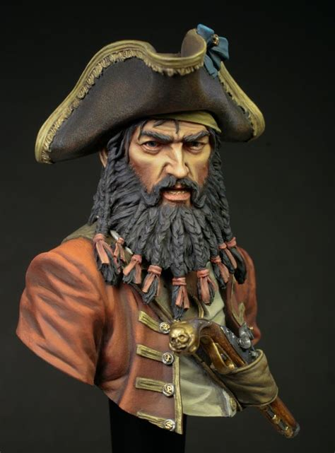 was blackbeard real 51 best images about model figurines on pinterest