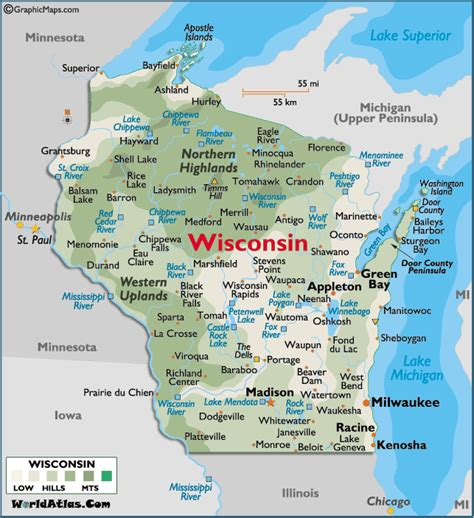 map of appleton wi wisconsin cities map usa