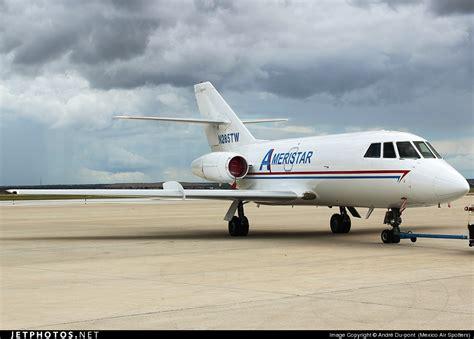 n285tw dassault falcon 20c ameristar air cargo andr 233 du pont mexico air spotters jetphotos