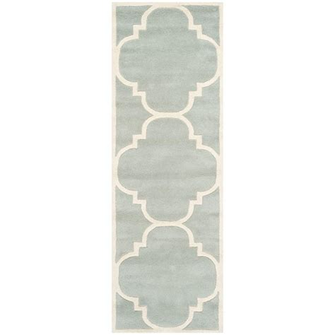 Pantofel Grey Ivory 2 safavieh chatham grey ivory 2 ft 3 in x 13 ft runner cht730e 213 the home depot