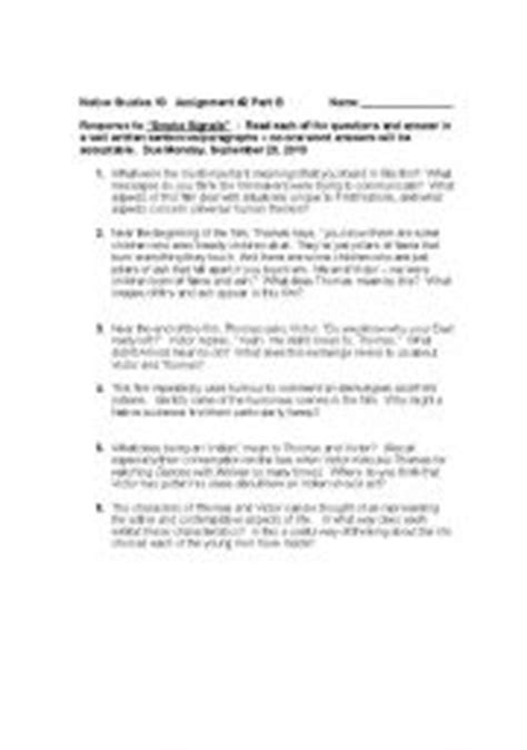 printable quiz about smoking english worksheets smoke signals movie based questions