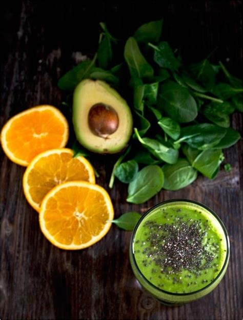 Orange Avocado Green Detox Juice by 26 Refreshing Detox Smoothies To Get You Ready For