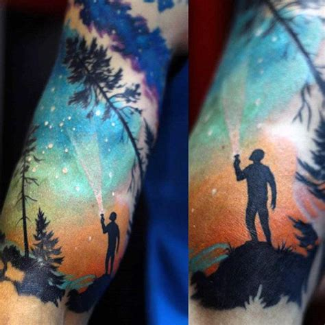 40 tattoos for luminous inspiration and designs