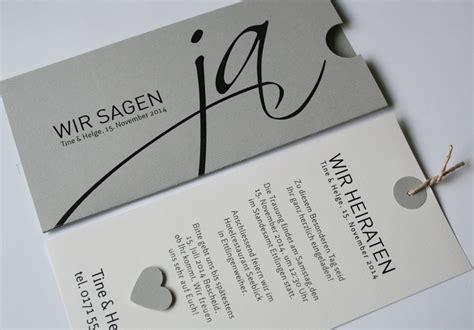 Hochzeitseinladungen Grau by Hochzeitskarten I Hochzeitseinladungen Aylando