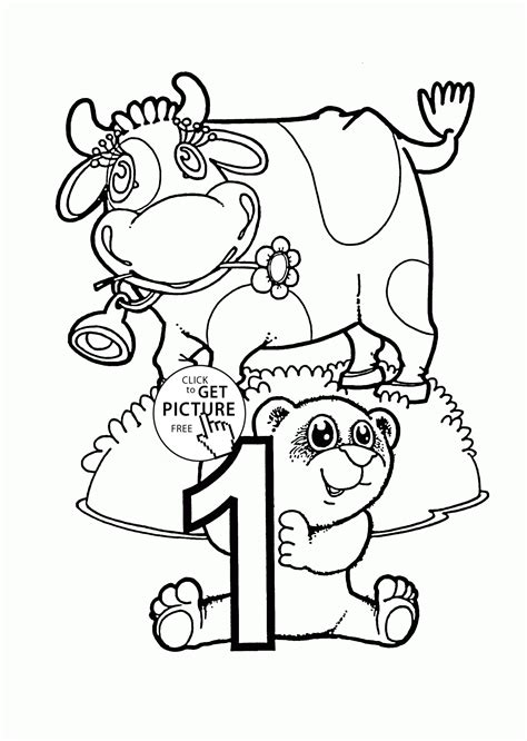 coloring pages with numbers for preschoolers number 1 coloring pages for preschoolers counting numbers