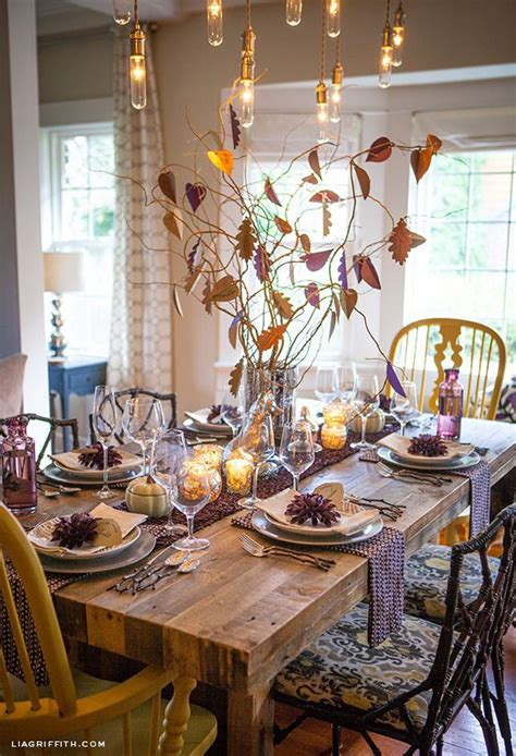 12 inspiring thanksgiving tablescapes design asylum