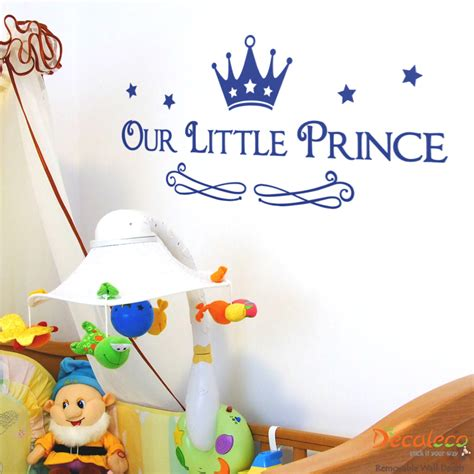 Wall Sticker For Nursery our little prince