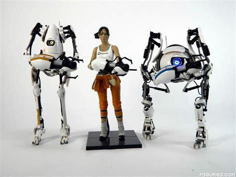 p and atlas figures review review neca portal 2 portal bots atlas p
