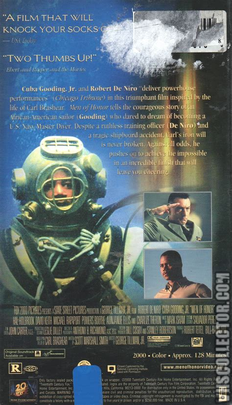 men of honor 2000 imdb men of honor vhscollector com your analog videotape