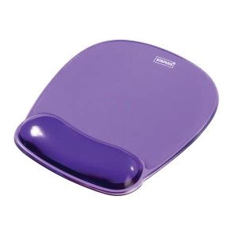Mouse Pad Gel staples mouse pad with gel wrist rest purple staples