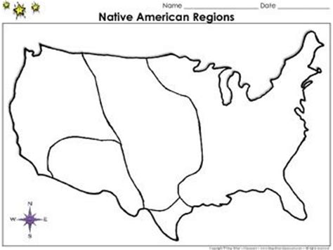 american regions map blank americans regions map blank page king