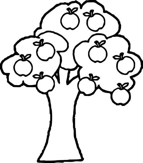 preschool coloring pages apple tree 82 apple tree coloring pages apple tree coloring
