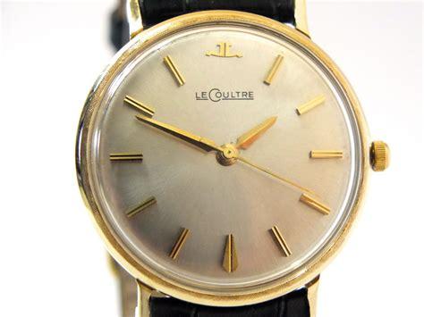 jaeger lecoultre 14k 1953 vintage gold watches