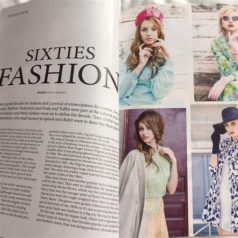 vintage magazine article style sixties uk fashion