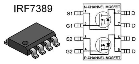 fet transistor list mosfet n p fet transistor irf7389 ges electronics