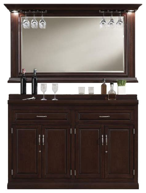 Wine Bar Cabinet Furniture Ricardo Slimline Bar Cabinet Traditional Wine And Bar Cabinets By Shopladder