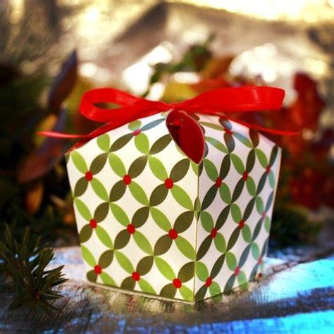 easy homemade christmas gift box templates holiday