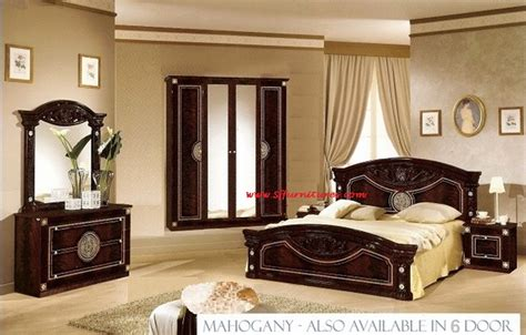 roma bedroom furniture italian bedroom set