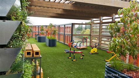 Garden Daycare Botanical Traditions Playspace Design Kindergarten
