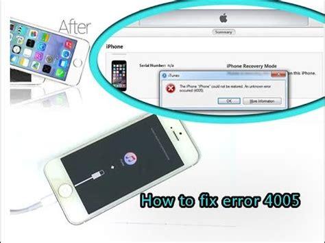 fix iphone  itunes error  restore hardware repair