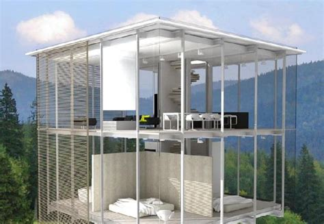 Glass Home Plans Transparent Glass House Design Ideas On The Outskirts Of