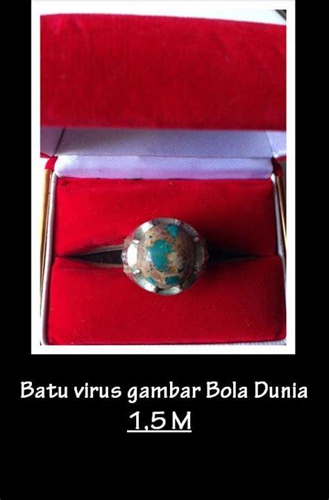 Antik Virus jual batu gambar virus bola dunia harga murah sidoarjo