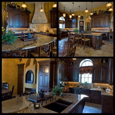 entertaining kitchen designs rustic luxury tuscan kitchen island idea still bar