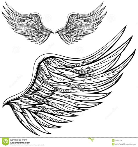 cartoon wing tattoo aile d ange de dessin anim 233 12591374 jpg 1300 215 1390