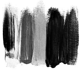 black white and gray colors brush strokes