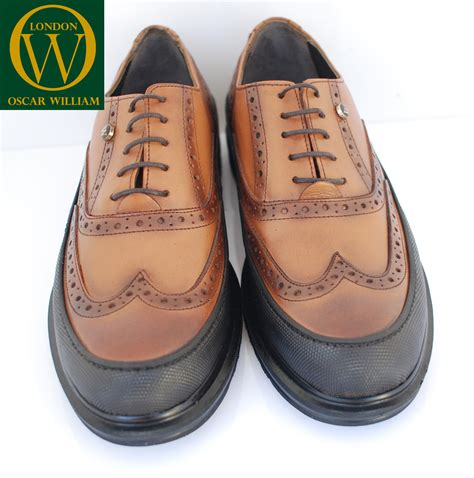 Handmade Brogue Shoes - luxury handmade brogue shoe crispin oscar william
