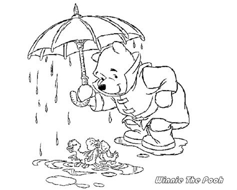 Coloring Friend Page Pooh Winnie Coloring Page Pooh I Can Be A Friend Coloring Page