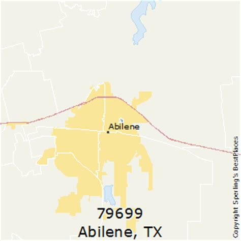 abilene texas zip code map best places to live in abilene zip 79699 texas