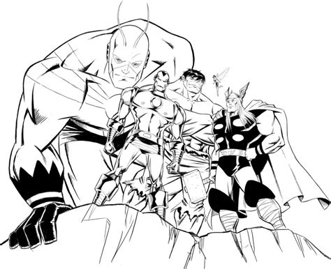 avengers assemble coloring pages avengers semble free colouring pages