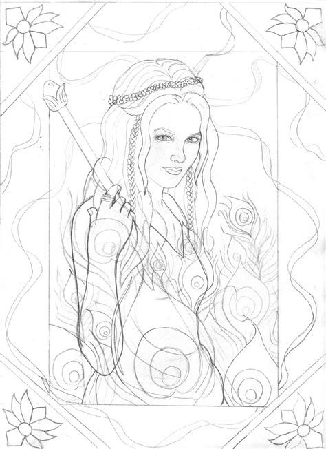 free coloring pages of greek goddess of love