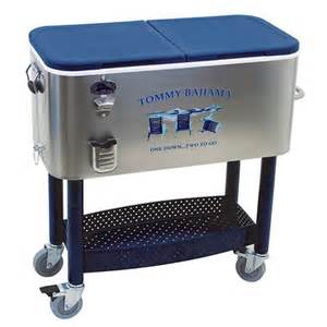 bahama patio cooler 77 qt stainless steel ebay