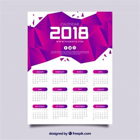 delaware design lab calendar calendario 2018 con abstracto de color morado descargar
