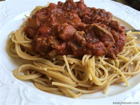 easy spaghetti sauce kasey trenum