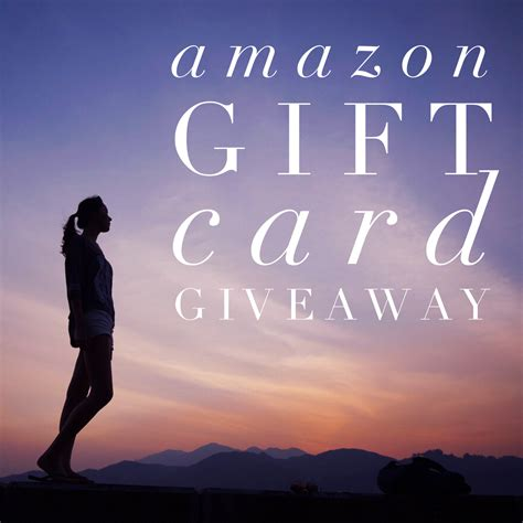 Safari Gift Card Giveaway - amazon gift card giveaway on honeysuckle hill