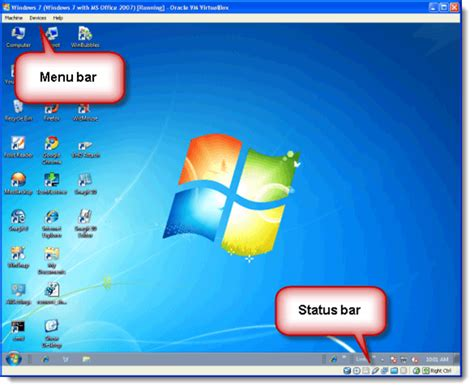 Desktop Bar On Top hide the menu bar and status bar in virtualbox