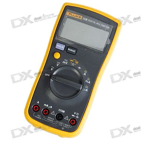 Multimeter Fluke 15b cheap fluke 15b 2 6 quot lcd digital multimeter meter 2 aa