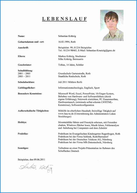 Lebenslauf Muster Neuester Stand How To Write A Bewerbung How To Write A Cv And Covering Letter In Word Openoffice Essay